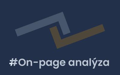Co je to on-page analýza a co všechno byste měli vědět?